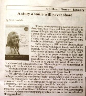 A Story a smile will never share Cortland Home News January 11 2014
